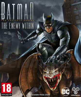Batman The Enemy Within The Telltale Series Complete Season